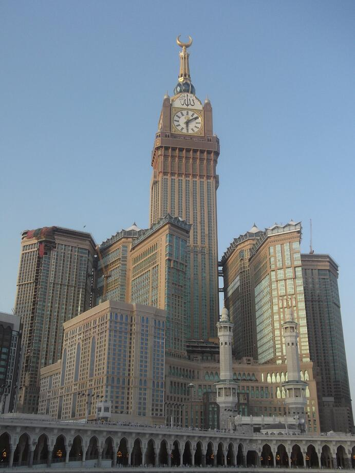 Abraj Al Bait Towers, Mekka