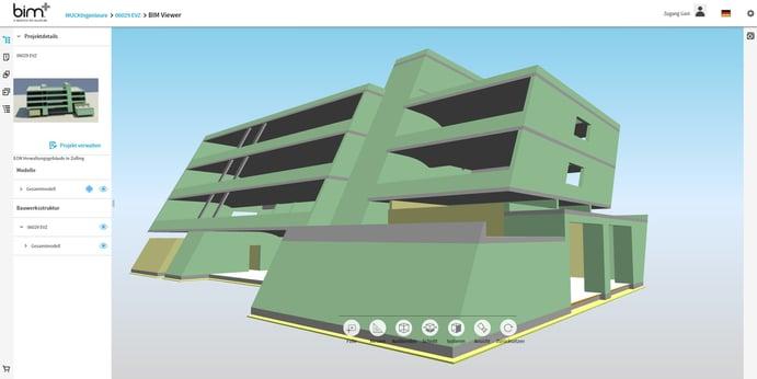 Das E.ON Verwaltungsgebäude als digitales Gebäudemodell