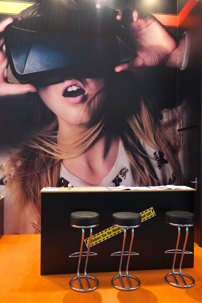 Virtual Reality auf der BAU 2017