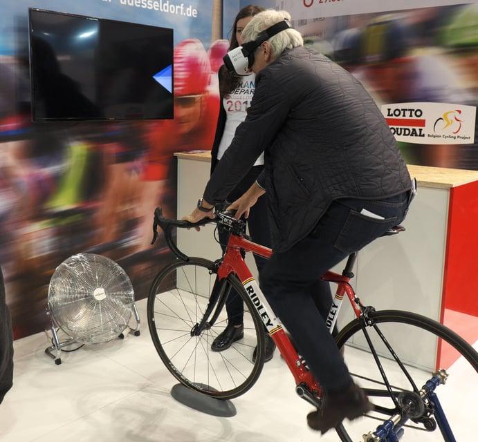 Tour de France für Jedermann - Dank VR!