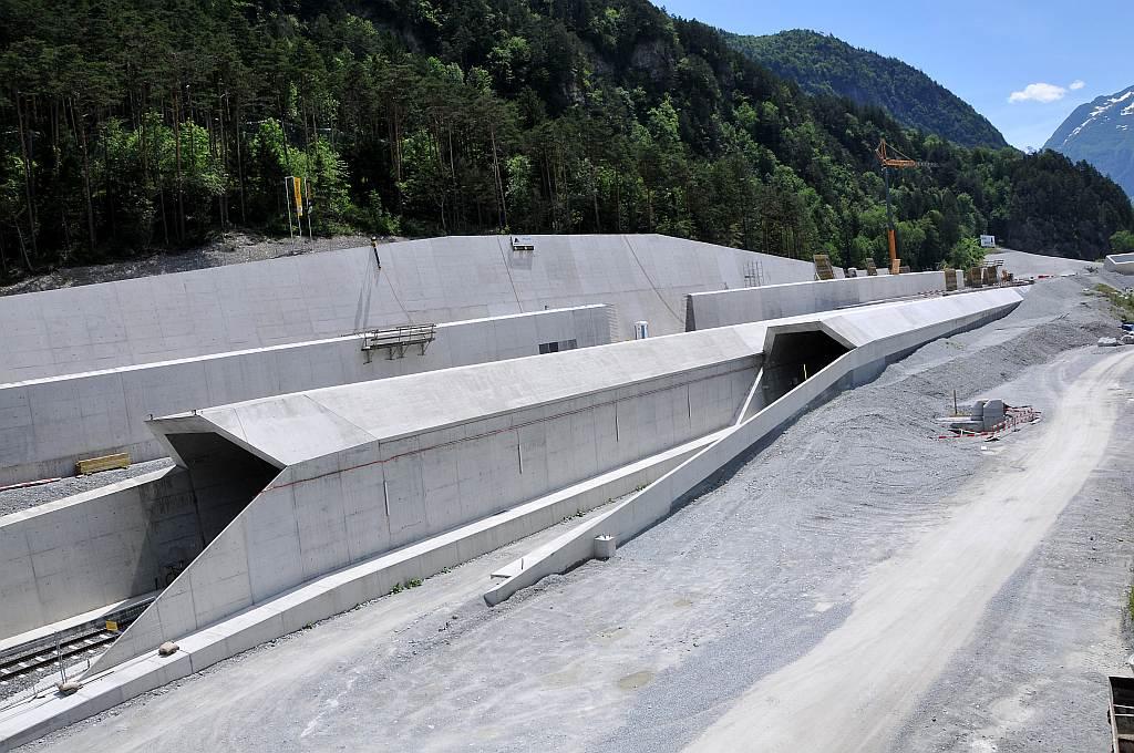 Gotthard Base Tunnel, Switzerland