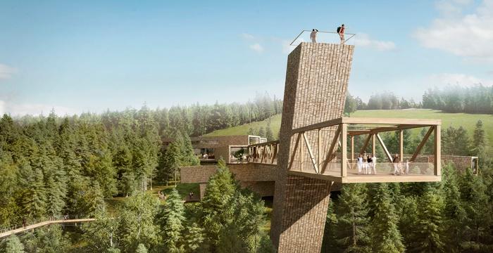 """""""Skywalk"""" Besucherzentrum Nationalpark Schwarzwald"""