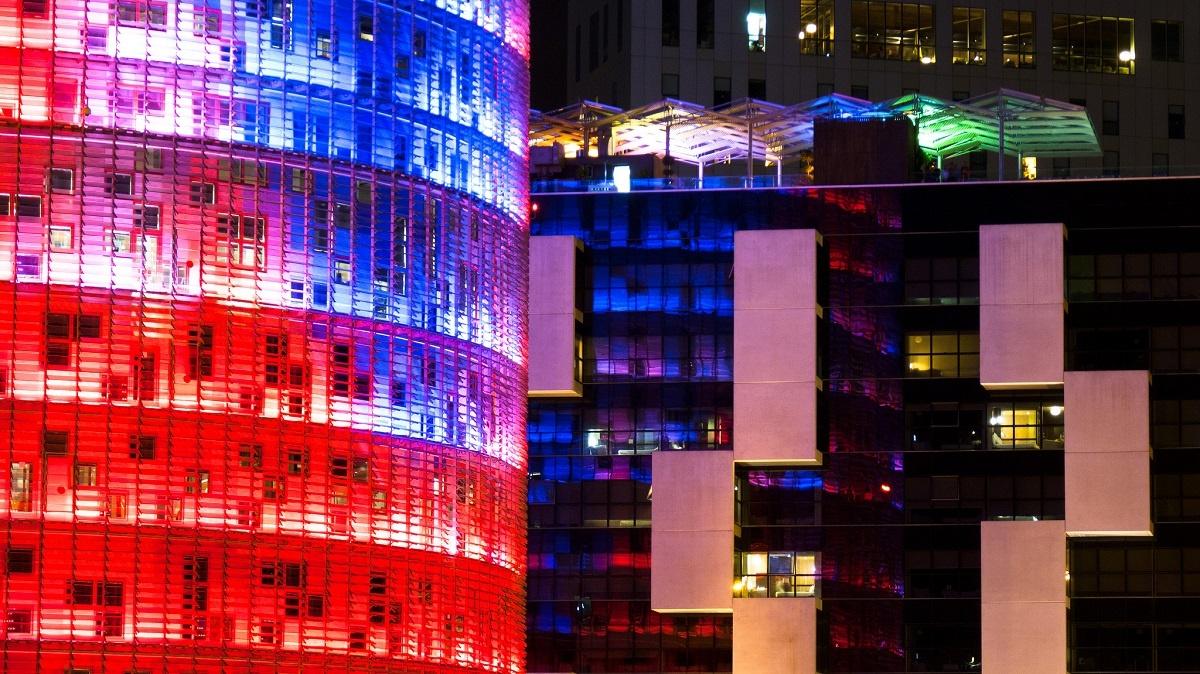 Barcelona-Architektur-Poblenau-Torres-Glories