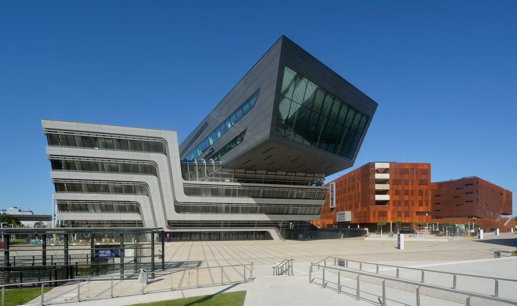 Library and Learning Center auf dem Campus der Wirtschaftsuniversität Wien