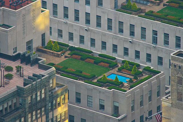 Rockefeller Center Dachgarten