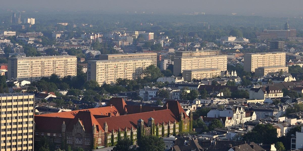 Grindelhochhäuser Hamburg-Eimsbüttel