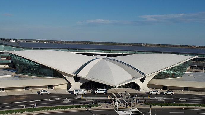 TWA-terminal in the New York Kennedy Airport