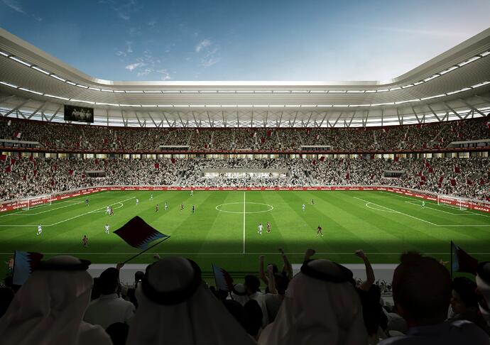 Ras Abu Aboud Stadion in Katar