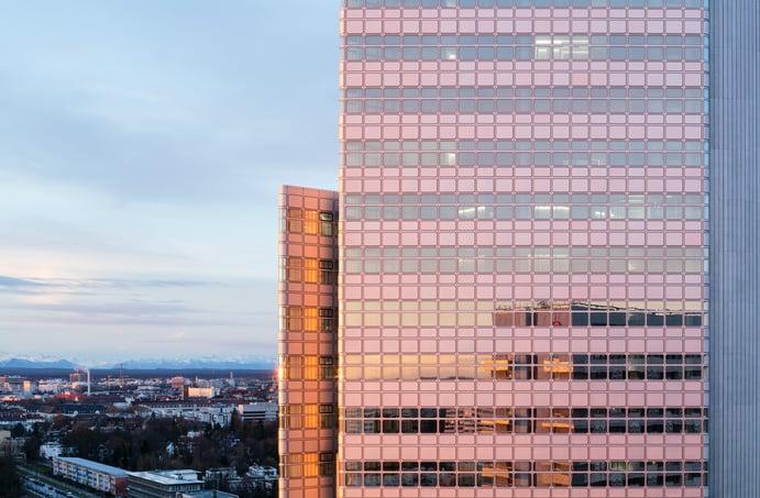 HVB-Tower, München, Außenansicht