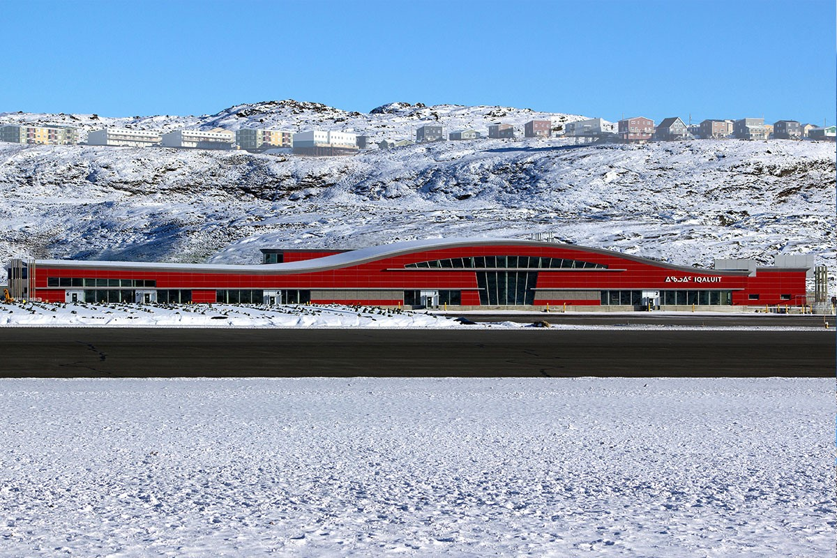 New Iqaluit International Airport Canada