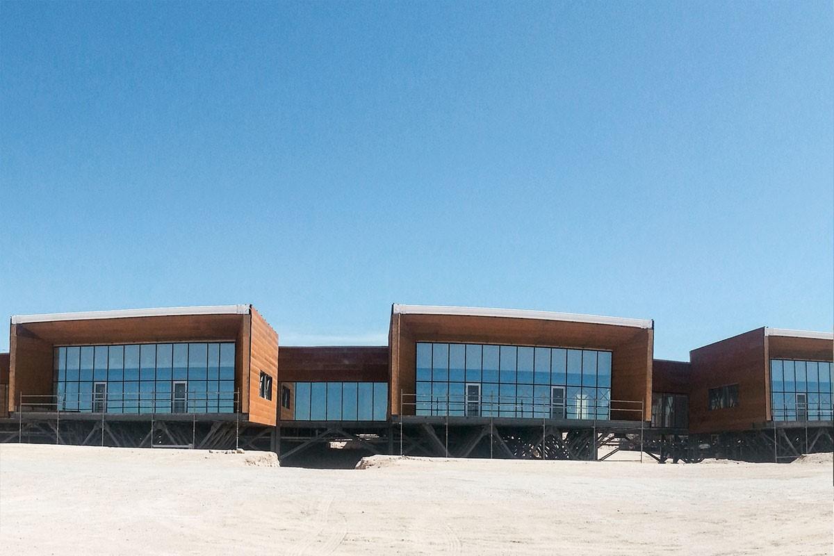 Centro Integrado de Operaciones in the Atacama desert in Chile
