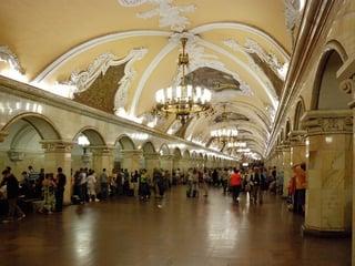 Komsomolskaya U-Bahn Moskau