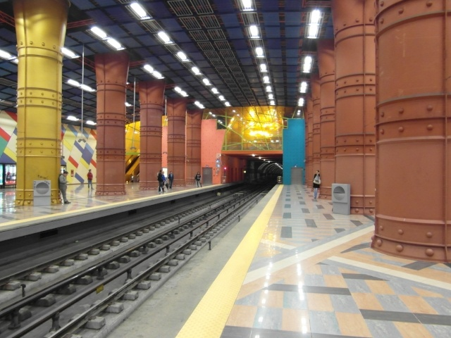 Metro in Lissabon