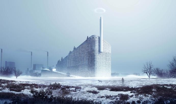 Müllheizkraftwerk Amager Bakke