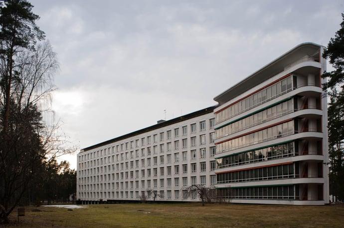 Paimio Sanatorium in Finnland