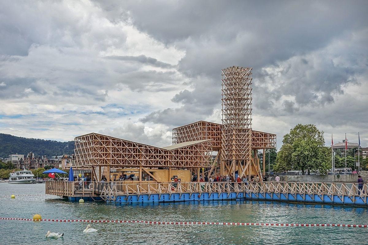 Pavillon of Reflections 2016, Zürich