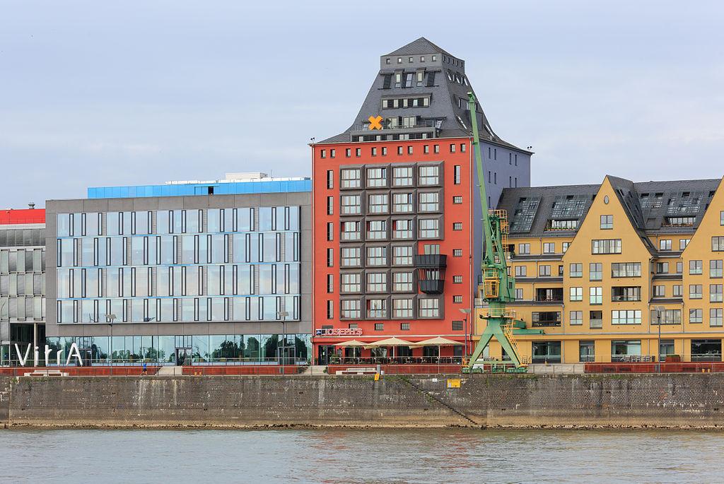 Silo 23 Rheinauhafen Köln