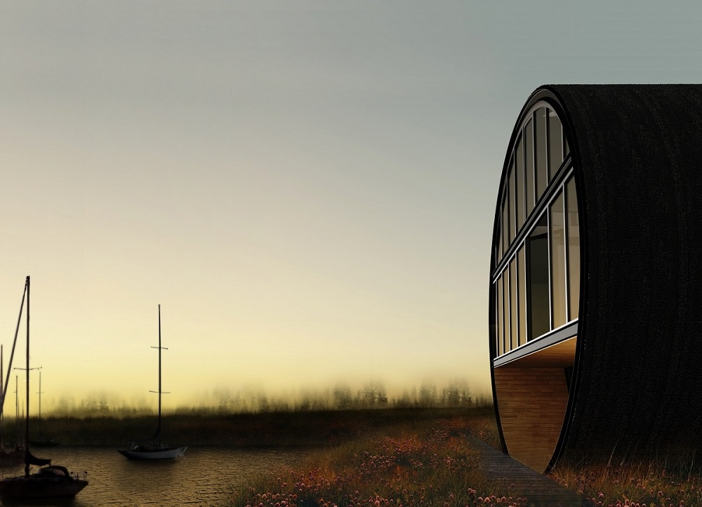 "Die Siedlung der ""Rolling Homes"" in Litauen"