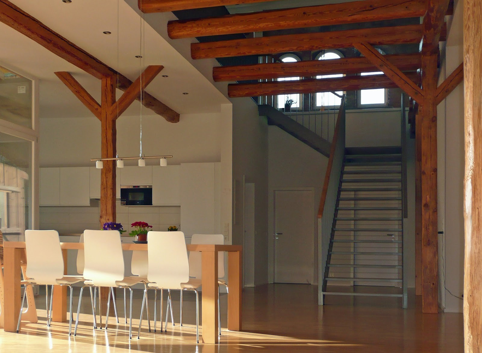 Scheunenhaus; Moderner Innenbau