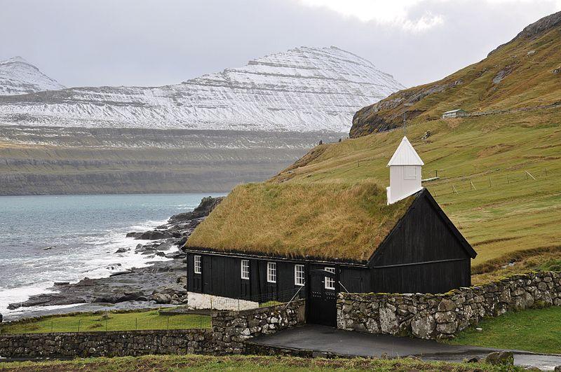 Kirche von Funningur (Faröer)