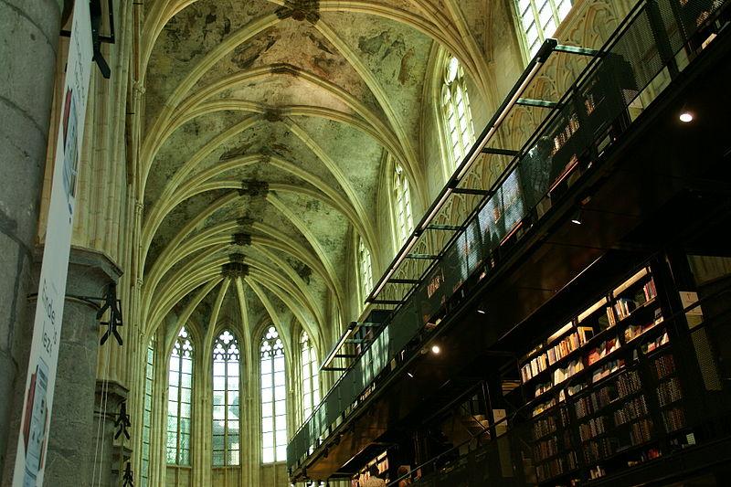 Buchladen Dominikanerkirche in Maastricht