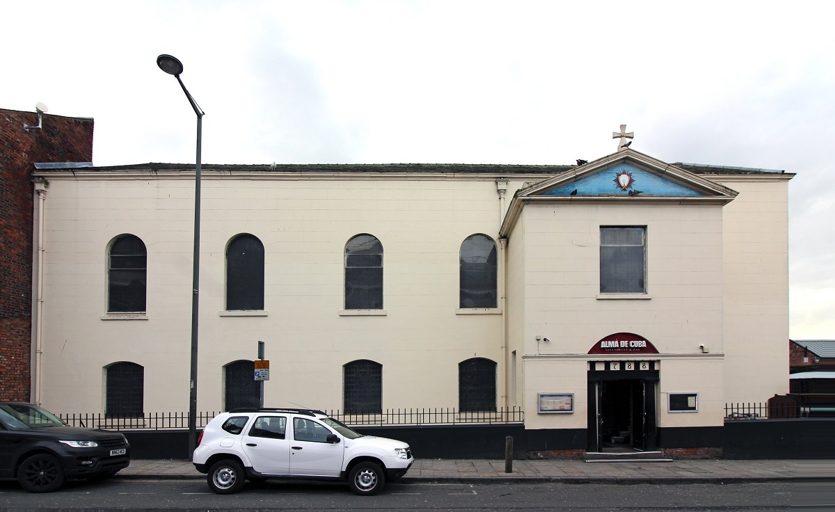 St. Peters Kirche in Liverpool