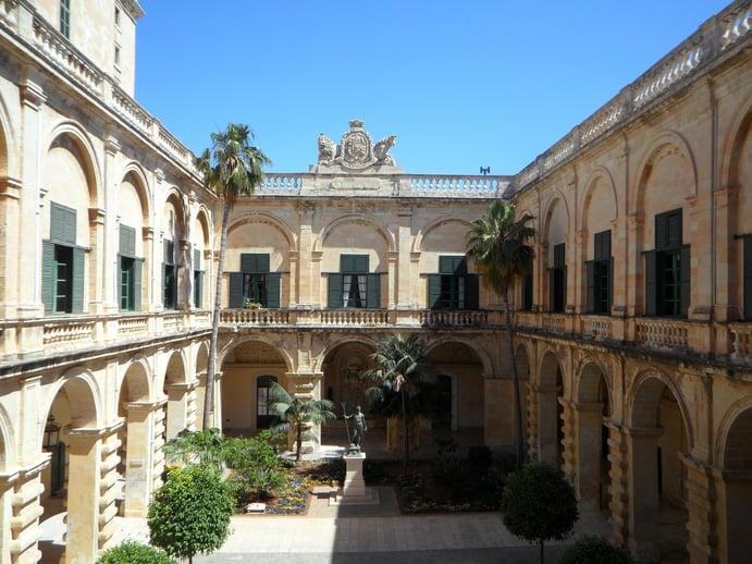 Großmeisterpalast Valletta