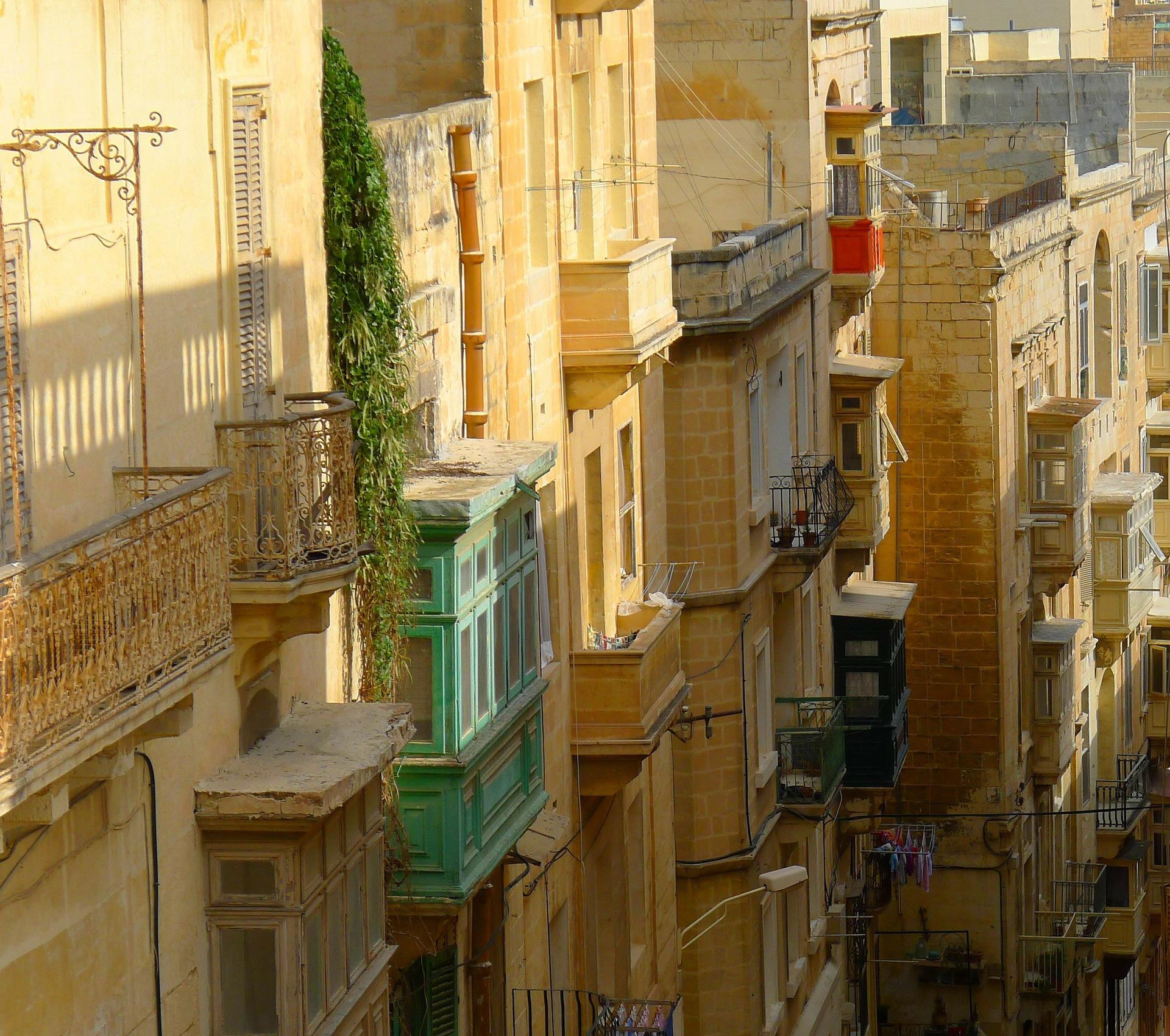 Gassen in Valletta