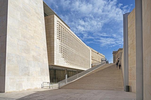 Parlamentsgebäude von Renzo Piano
