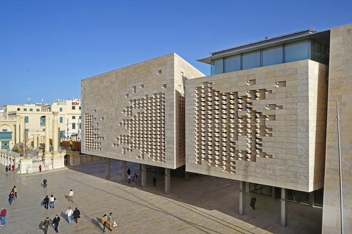 Parlamentsgebäude Valletta