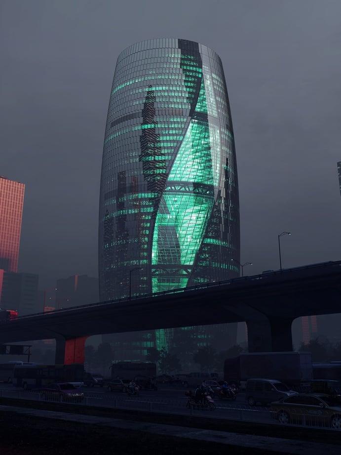 Leeza Soho, Beijing