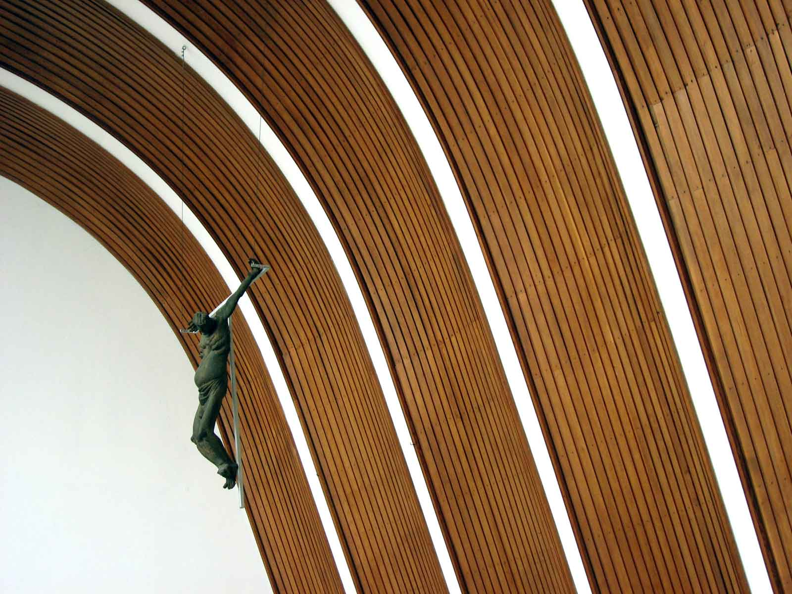 Alvar Aalto Kirche in Wolfsburg