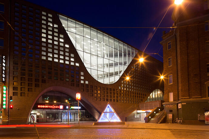 Kaisa House in Helsinki