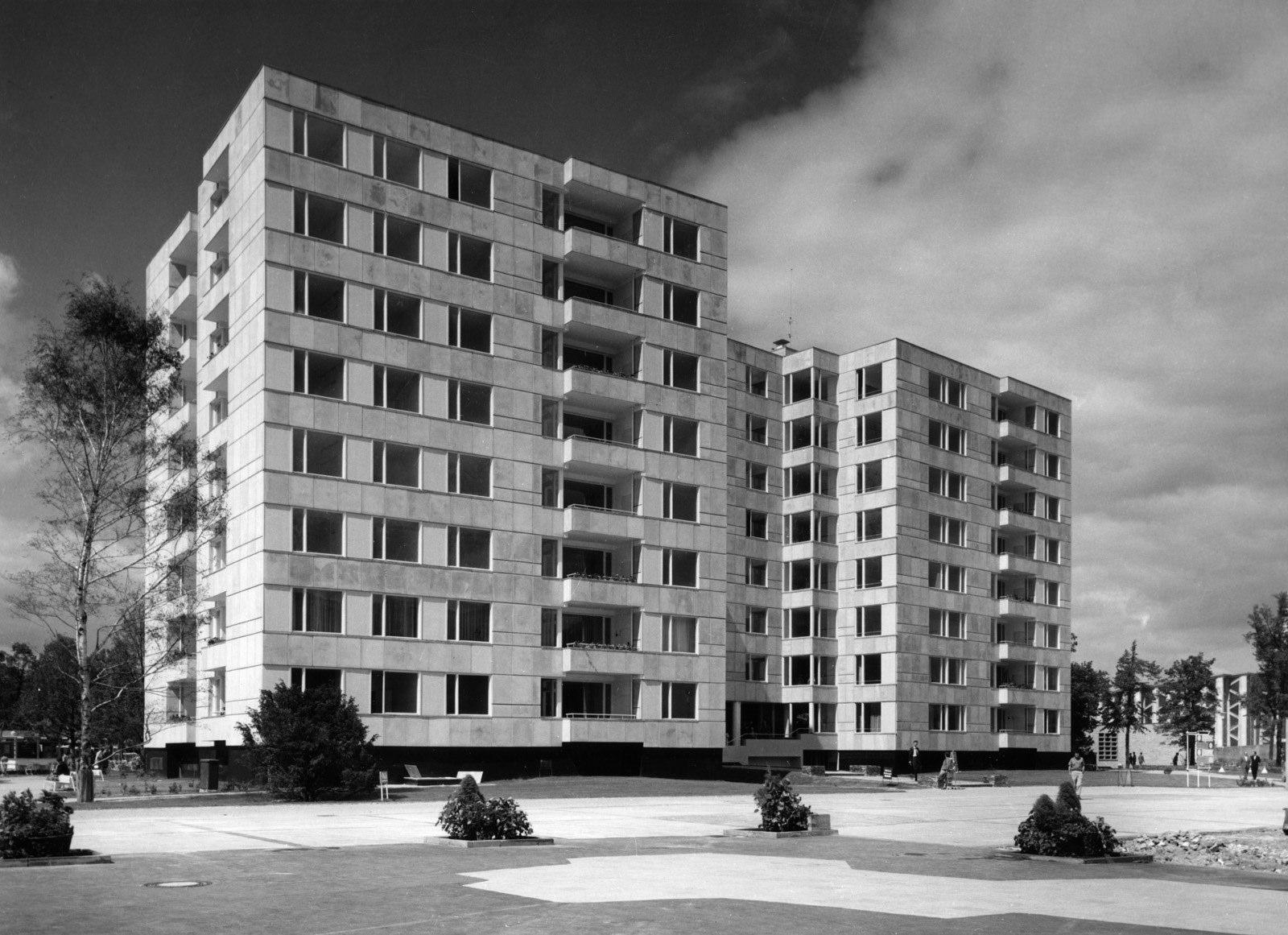 Wohngebäude im Hansaviertel Berlin (1955-57)