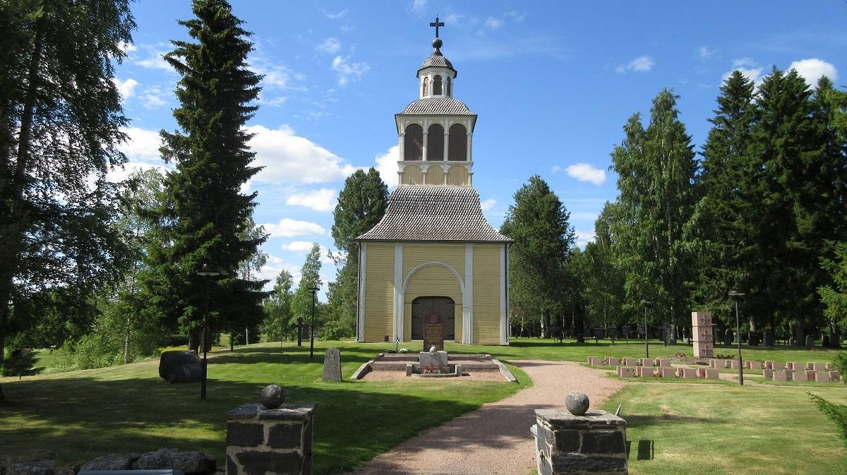 Neoclassicism church in Liminka