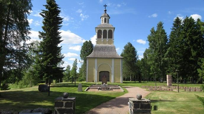 Neoklassizistische Kirche in Liminka