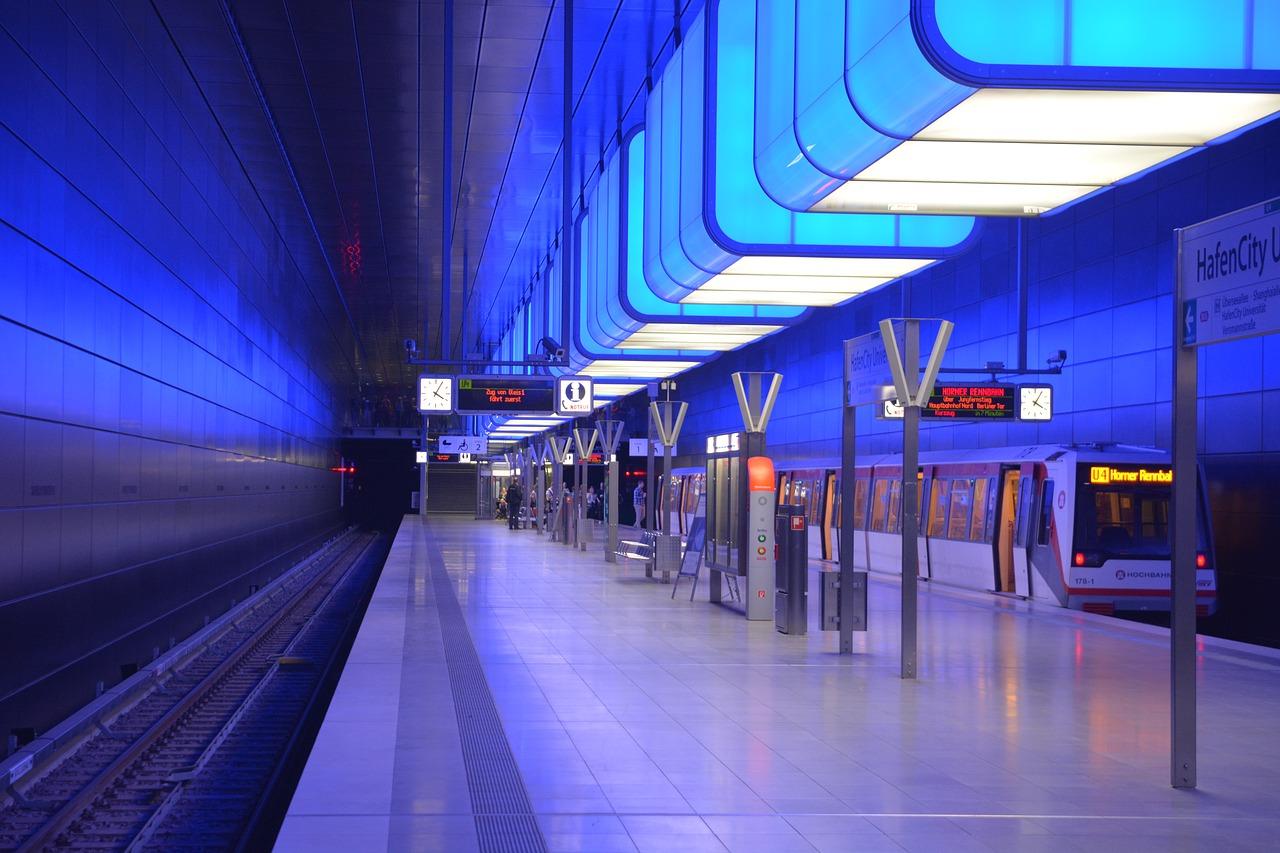 Hamburger U-Bahn-Station