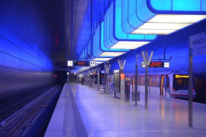 Hamburg Underground station