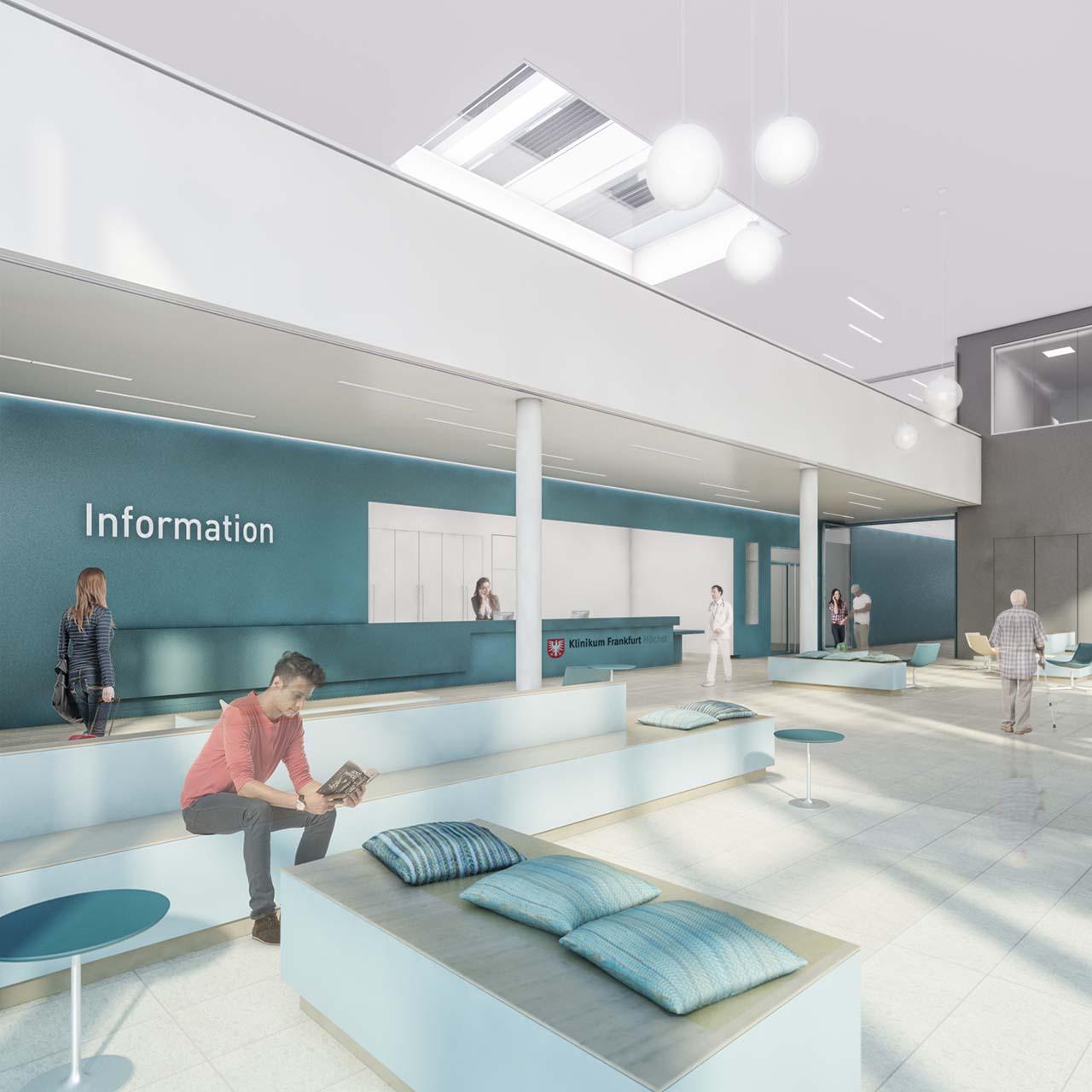 Visualisierung Klinikum Frankfurt-Höchst