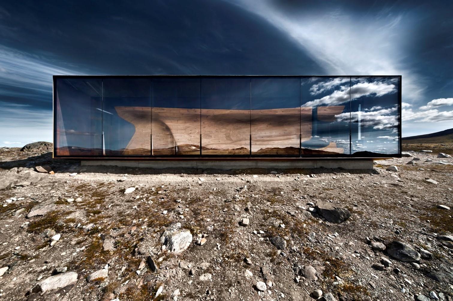Rentier-Beobachtungsstation Tverrfjellhytta, Norwegen