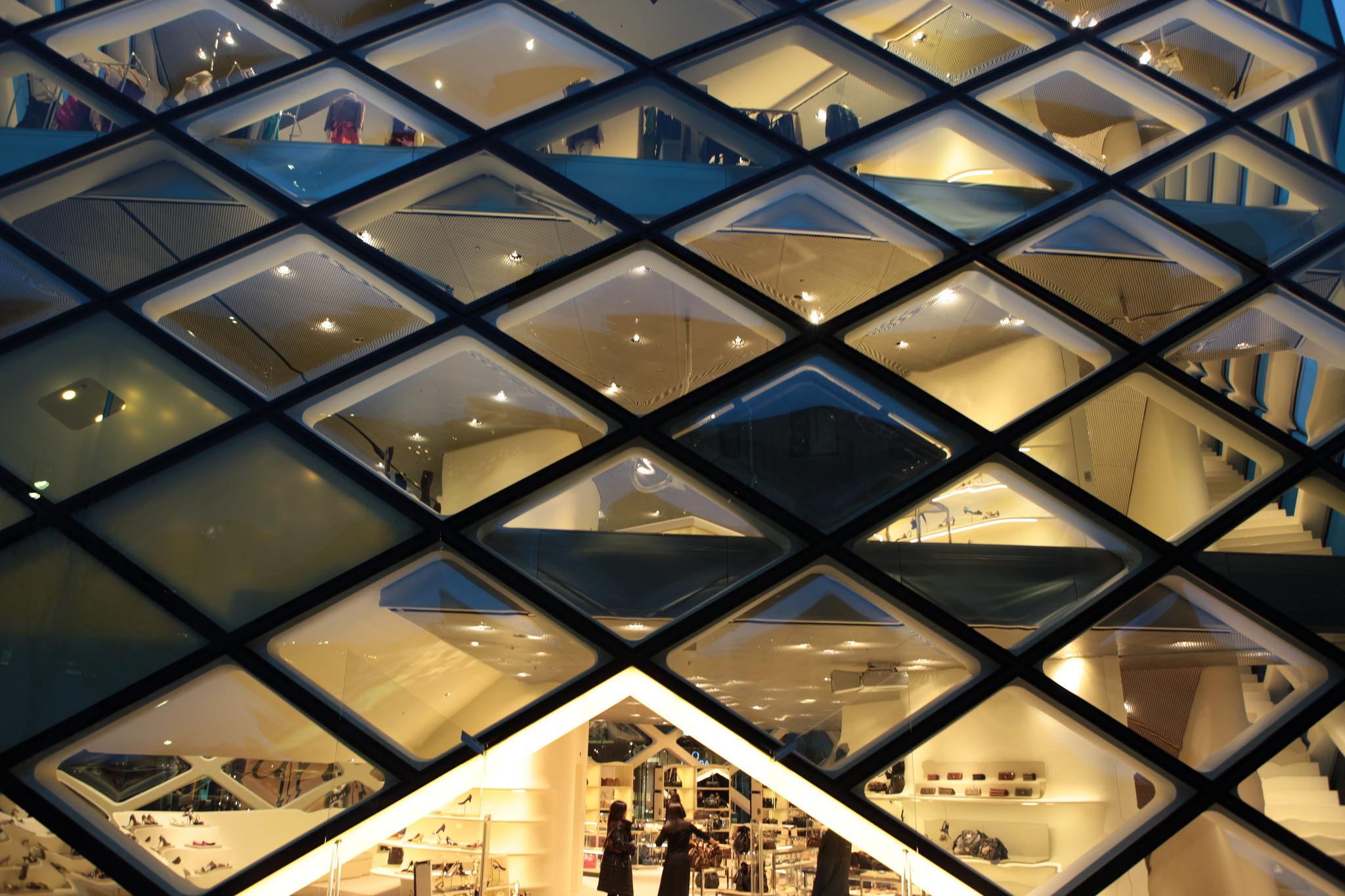 Prada Store in Tokio von Herzog & de Meuron