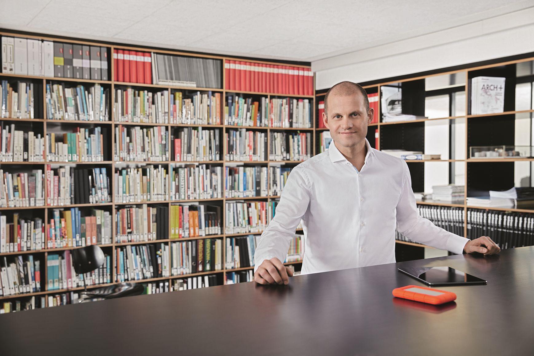 """""""BIM macht Informationen sichtbar"""", sagt Dipl. Arch. ETH Daniel Zuppiger, Mitglied der Geschäftsleitung und BIM-Manager bei der Stücheli Architekten AG in Zürich."""