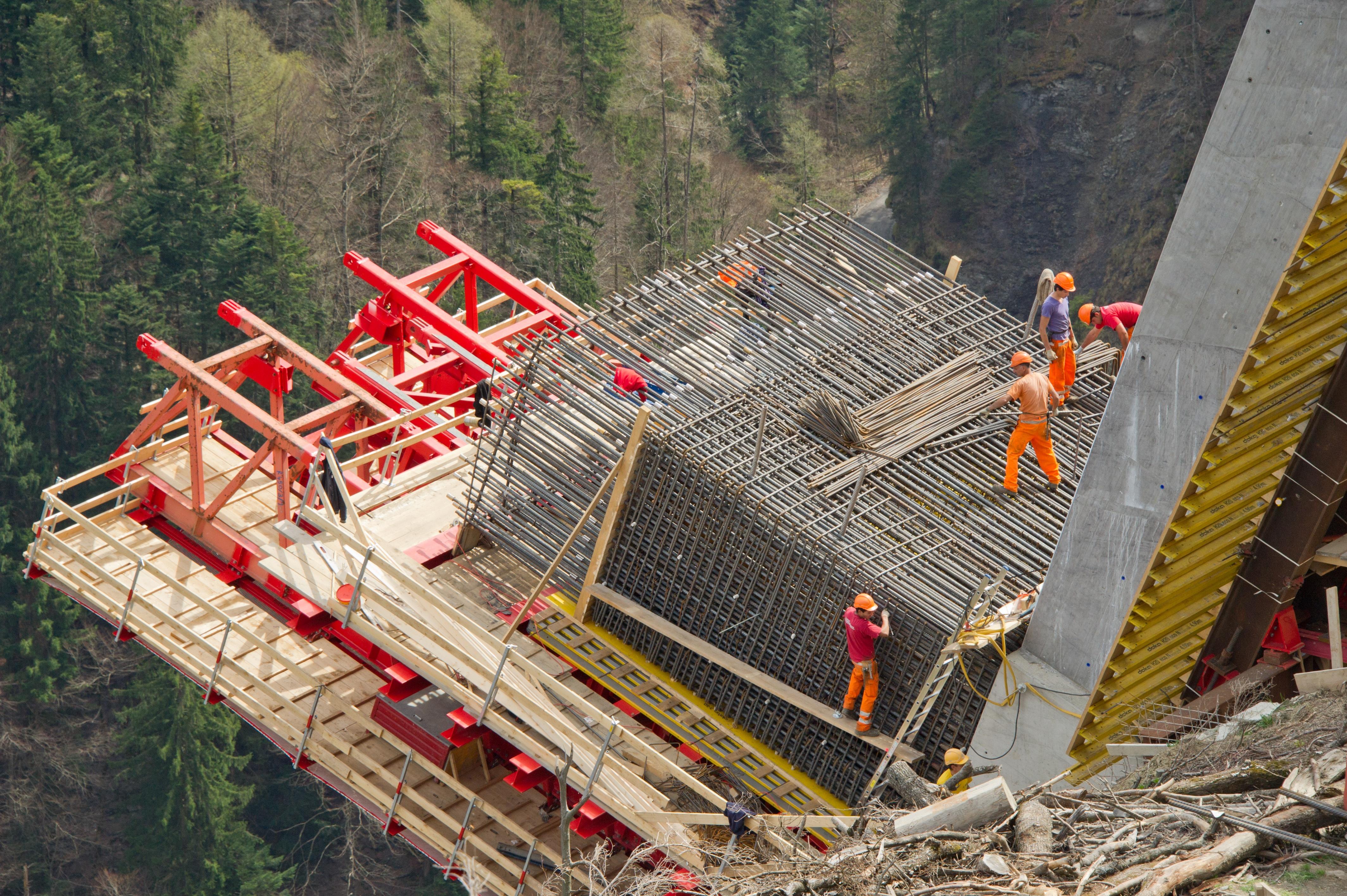 Tamina Bridge, St. Gallen, Switzerland