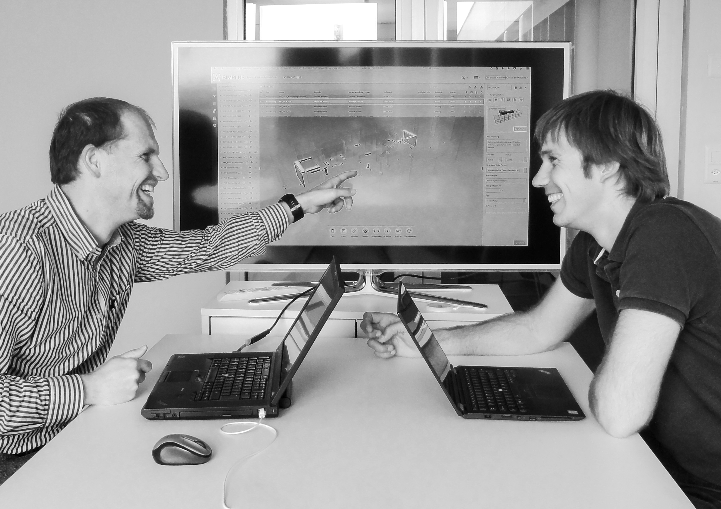 Christian Mathies (left) and Andreas Haffter, WaltGalmarini AG, Zurich