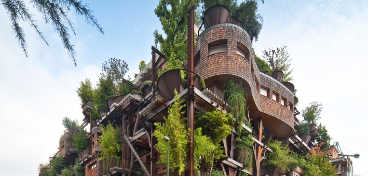 25 Verde Italien Baumhaus Architektur