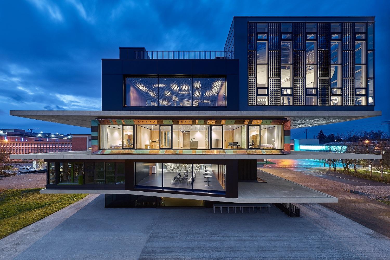 Recycling-Architektur
