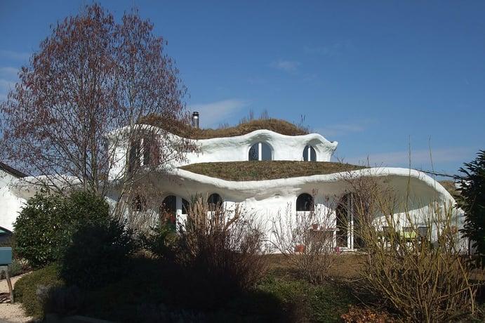 Earth house in Altenrhein (Switzerland)