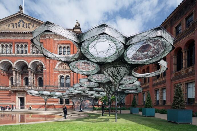 Elytra Filament Pavilion, Victoria and Albert Museum, London