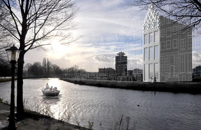 Artist Impression 3D Print Canal House