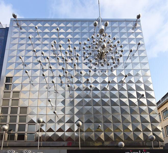 Geschäftshaus Kölner Straße von Otto Piene